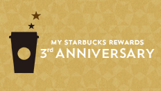 STARBUCKS 15th Anniversary