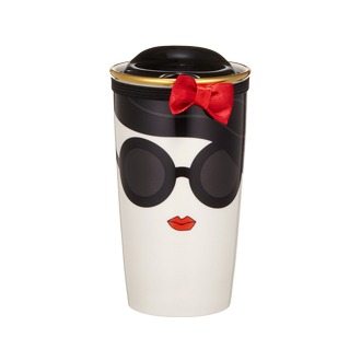 Starbucks Alice+Olivia Mug & Tote Bag